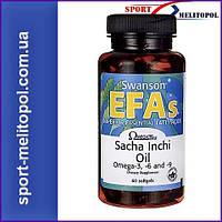 Swanson EFAs OmegaTru Sacha Inchi Oil 60 softgels