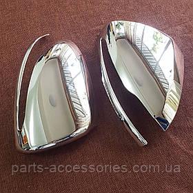 Mercedes S S-Class W222 2013-17 хромовые накладки на зеркала Новые