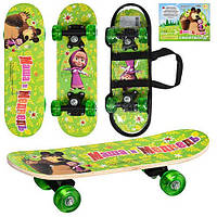 """Детский скейт """"Маша и медведь"""" MM 0010"""