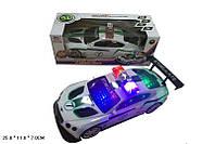 Машина на батарейках 89-5689В поліція 25*11*7см