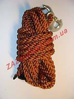 Канат трос буксировочный плетенный 2т 5 м