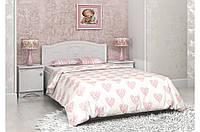 Детская кровать «Мишка» 70x140 см, без ящиков, цвет: белый