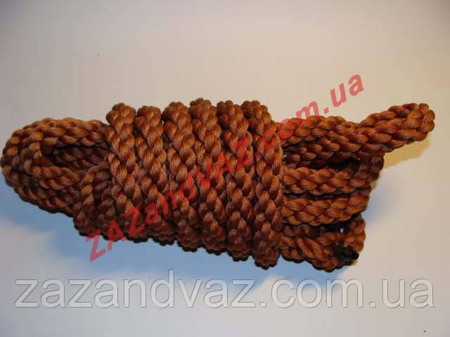 Канат трос буксировочный плетенный 8т 5 м