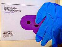 Перчатки нитриловые неопудренные WA
