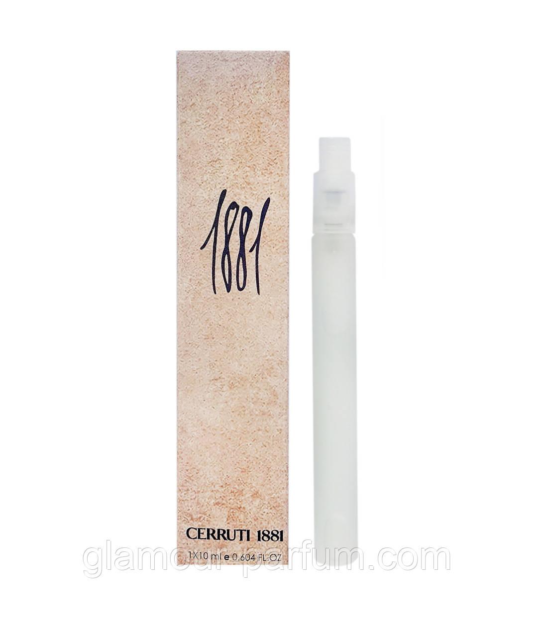 Мини парфюм Cerruti 1881 pour Femme (Черутти 1881 пур Фем) 10 мл (реплика) ОПТ