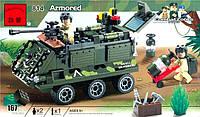 Конструктор Военная серия Бронетранспортер Brick 814