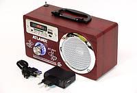Радиоприемник-Колонка Atlanfa АТ-R81 (USB, SD, аккумулятор, 220 V), фото 1