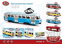 Трамвай музыкальный Автопарк 9708C