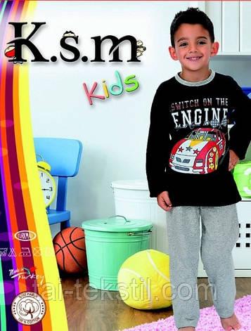 KSM пижама детская c начесом БАЙКА мальчик (5-14 лет), фото 2