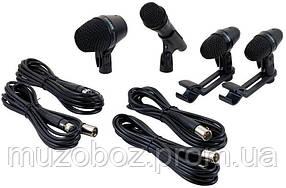 Набор микрофонов Shure PGADRUMKIT4