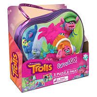 Пазлы с сумочке DreamWorks Trolls
