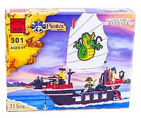 Конструктор Brick 301 Корабль Barbara 211 деталей