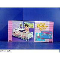 """Детская мебель для кукол """"Спальня"""" ТМ Gloria 9314"""