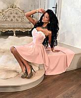 Вечернее асимметричное платье 124 (130)