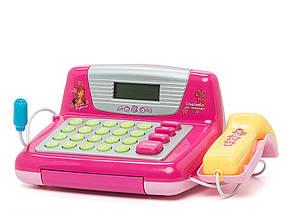 """Кассовый аппарат 7017, Joy Toy """"Мой магазин"""", сканер, лента, калькулятор, микрофон, продукты, деньги, касса, фото 3"""
