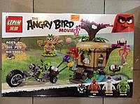 """Детский конструктор Lepin Angry Birds 19003 """"Кража яиц с Птичьего острова"""" 305 деталей"""