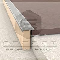 ПЛ-210 Z-профиль алюминиевый плиточный 2,5 Серебро