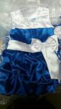 Детское нарядное атласное платье Тортик , фото 2