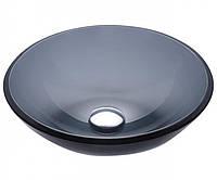 Стеклянная раковина в ванную KRAUS GV-104-12mm