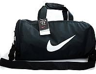 Небольшая спортивная, дорожная сумка NIKE с отделом для обуви. Сумка Найк. КСС2