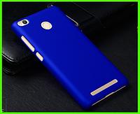 Бампер, чехол прототип фирмы NILLKIN для XIAOMI REDMI 3X (синий)