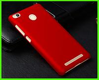 Бампер, чехол прототип фирмы NILLKIN для XIAOMI REDMI 3X (красный)
