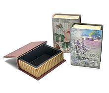 Сейф-шкатулка деревянная Книга