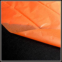 Бумага тишью, цвет оранжевый