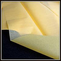 Бумага тишью, цвет желтый