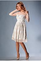 Нежное кружевное платье создано из гипюра