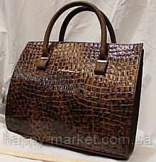 Сумка женская классическая Fashion  под крокодил 552901-10, фото 2