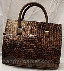 Сумка женская классическая Fashion  под крокодил 552901-10, фото 3