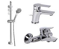 Набор смесителей для ванной комнаты FIMA CARLO FRATTINI F3761/4CR
