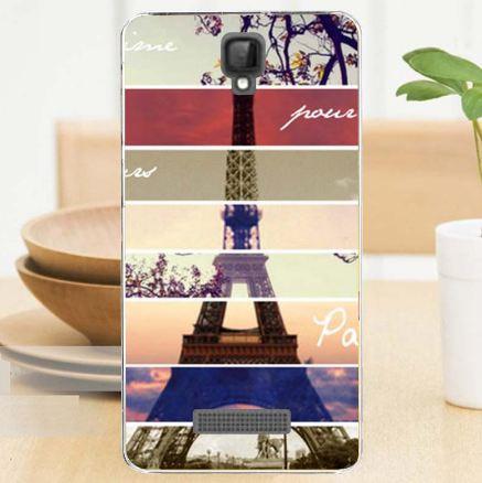 Оригинальные чехлы с картинками для ZTE Blade L5 Plus / L5 Башня в Париже