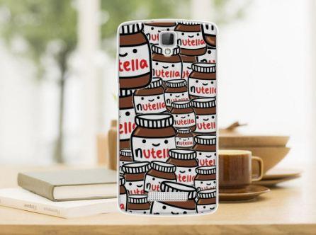 Силиконовый чехол накладка для ZTE Blade L5 Plus / L5 Nutella
