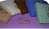 "Полотенца. Банное махровое полотенце ""Маргаритки"". Полотенце. Ванное полотенце"