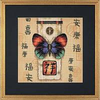 """Набор для вышивания крестом Dimensions """"Восточная бабочка//Oriental Butterfly"""" 35034"""