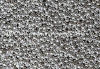 Декоративные жемчужины — серебро Ø1 - 200 г