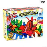 """Набор Plasticine Magical 9246 Парк Динозавров,Тесто для лепки игровой набор 9246 """"Парк Динозавров"""""""