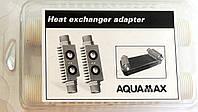 Адаптер (переход) AQUAMAX (пластик) для промывки теплообменников, код сайта 0250
