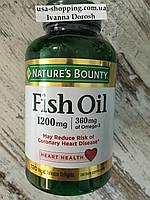 Рыбий жир в капсулах FISH OIL Omega 3,  120 капсул