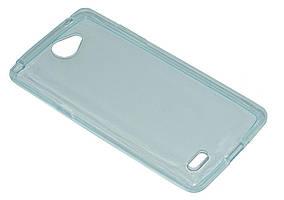 Силиконовый чехол Ultra-thin на LG Max X155 / Bello II Turquoise