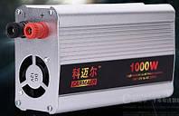 Инвертор 12V/24V to 220V 1000 W, фото 1
