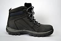 Кожаные зимние мужские ботинки Rosso Avangard. Bazz черные, фото 1