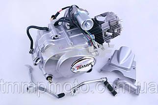 Мото двигатель Дельта-110 52,4 мм механика заводской, фото 2