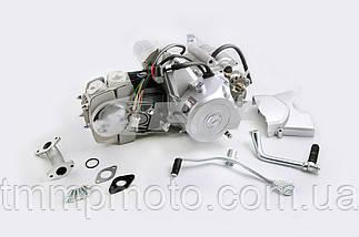 Мото двигатель Дельта-110см3 52,4мм  механика заводской, фото 3