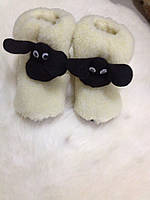 Чуни Шон из натуральной овечьей шерсти