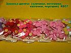 Заколка дитяча  (зайчики, метелики, квіточки, черешня)  RD57, фото 3