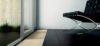 Підлоговий конвектор – теплова штора в Ваш дім на вікна