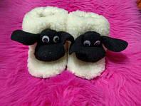 Чуни Шон из натуральной овечий шерсти